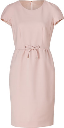 Paule Ka Powder Pink Wool Dress