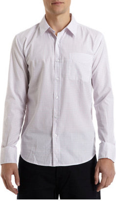 Barneys New York CO-OP Grid Check Shirt