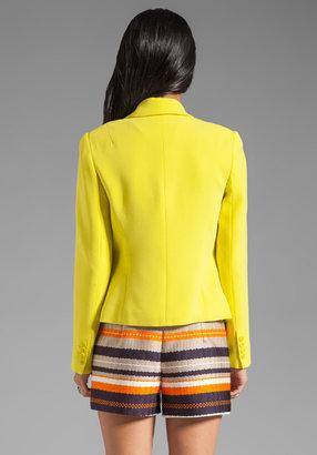 Trina Turk Crepe Suiting Creative Blazer