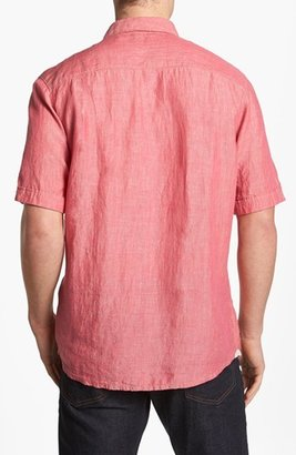 Tommy Bahama 'Party Breezer' Short Sleeve Linen Sport Shirt