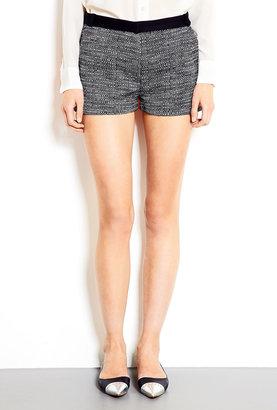 Victoria Beckham Denim Tweed Mini Shorts