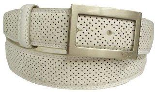 PGA TOUR Mens Perforated Fashion Buckle Belt