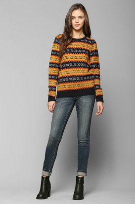 Urban Outfitters Coincidence & Chance Classic Fair Isle Sweater