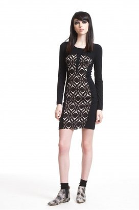 Tracy Reese Jersey Combo Dress