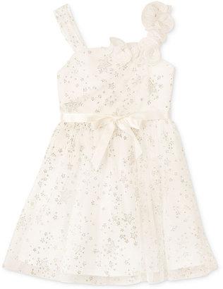 Amy Byer BCX Girls Dress, Girls Star Glitter Dress