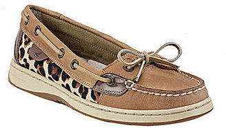 Sperry Angelfish Leopard-Print Boat Shoes