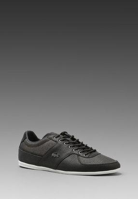 Lacoste Tailore 6 in Grey/Black