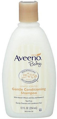 Johnson & Johnson Aveeno Baby Gentle Conditioning Shampoo 12oz