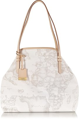 Alviero Martini Geo Printed Large 'New Basic' Shoulder Bag