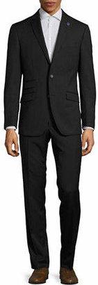 Ted Baker NO ORDINARY JOE Joey Grid Check Wool Suit