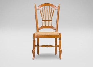 Ethan Allen Renée Woven-Seat Side Chair