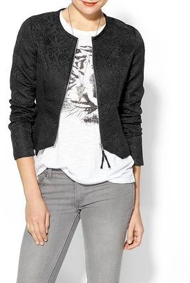 BCBGMAXAZRIA Rhyme Los Angeles Nila Embossed Jacket