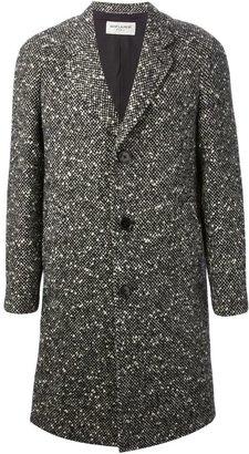 Saint Laurent raglan sleeve overcoat