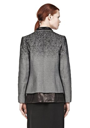 Alexander Wang Layered Blazer With Zipper Detail