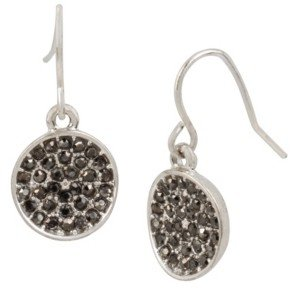 Kenneth Cole New York Pave Circle Drop Earring