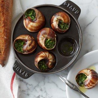 Staub Cast-Iron Escargot Dish with 6 Holes