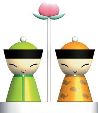 Alessi Mr. & Mrs. Chin, Salt and pepper set