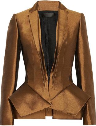 Haider Ackermann Wool and silk-blend peplum jacket