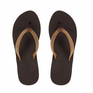 Reef Women's Sandals Zen Love   Classic Flip Flops for Women   Brown/Tobacco   Size 5