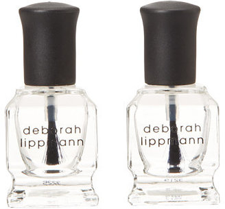 Deborah Lippmann Best Of Both Worlds 2 Bottle Set - Top and Base Coat