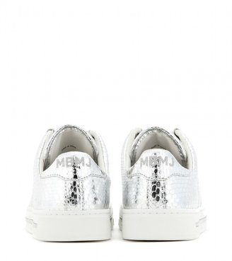 Marc by Marc Jacobs Metallic-leather sneakers