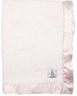 Little Giraffe Chenille Baby Blanket - Pink