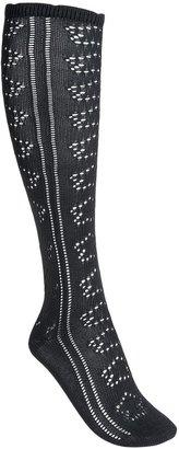 Pact Pointelle Knee Socks - Lightweight, Organic Cotton (For Women)