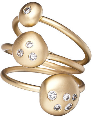 Indulgems Sparkle and Pebble Stackable Rings