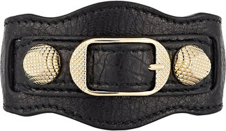 Balenciaga Women's Arena Giant Bracelet $245 thestylecure.com