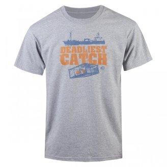 Deadliest Catch Crab Pot T-Shirt - Heather Grey