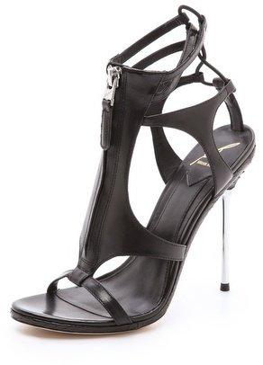 Brian Atwood Merritta Zip Front Sandals