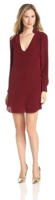 Rory Beca Women's Jay-Collar Shift Dress with Quilting