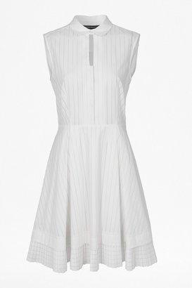 French Connection Pixel Cotton Shirt Dress
