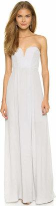Zimmermann Strapless Maxi Dress $350 thestylecure.com