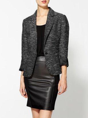 Pim + Larkin Metaliic Tweed Blazer