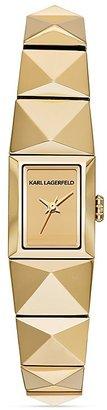Karl Lagerfeld Petit Perspektive Pyramid Watch, 21mm