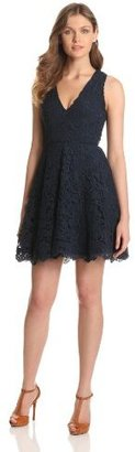 French Connection Women's Loving Crochet Dress