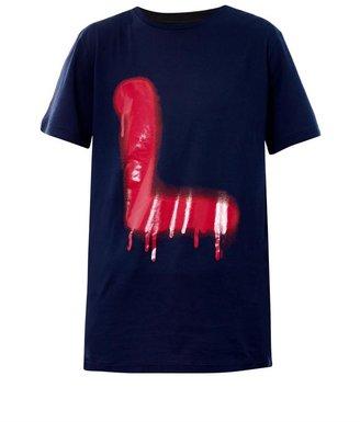 Lanvin Graffiti L-print T-shirt