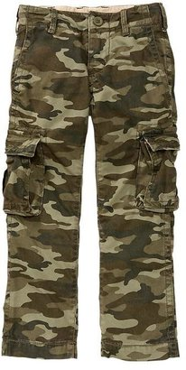 Gap Camo straight cargo pants