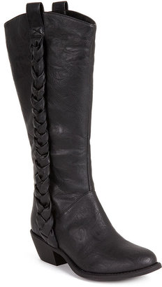 Unlisted Shoes, Country Club Wide Calf Tall Boots