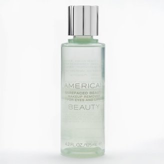 American beauty barefaced beauty TM makeup remover for eyes and lips