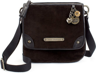 Juicy Couture Velour Charms Cross Body Bag
