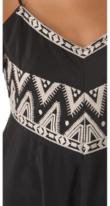 Twelfth St. By Cynthia Vincent Embroidered Tank Dress