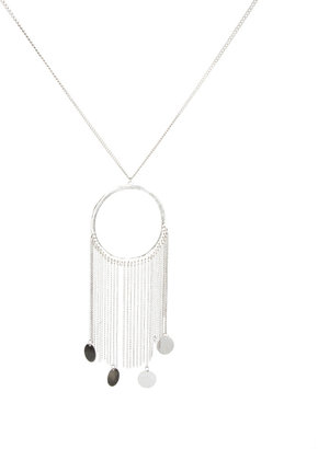 Adele Marie Chain Drop Pendant Necklace