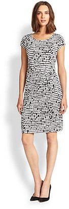 HUGO BOSS Graphic-Print Dress