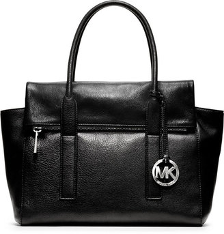 MICHAEL Michael Kors Tippi Pebbled Leather Large Satchel