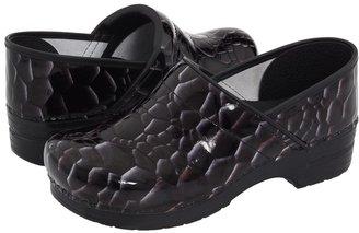 Dansko Professional (Onyx Tiger's Eye Patent) - Footwear