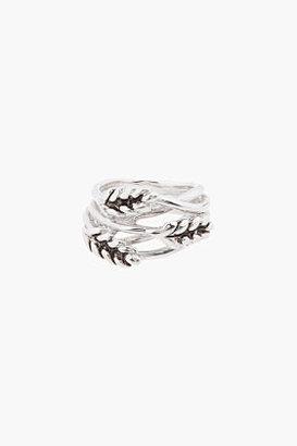 Aurelie Bidermann Silver Wheat Ring