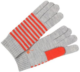 Marc by Marc Jacobs Critter Sweater Glove (Chrome Melange Multi) - Accessories