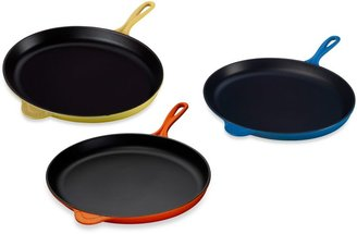 Le Creuset 15.75-Inch Oval Skillet in Cherry Red